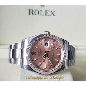 de303db16fc Rolex Oyster Aco Letra R De Luxo - Relógios De Pulso no Mercado ...
