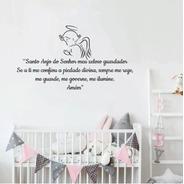 Adesivo Frase Oração Anjinho Infantil Bebê