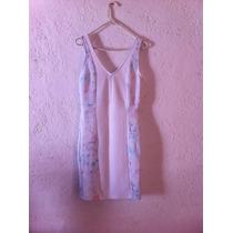 Vestido Blanco Bershka T28