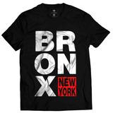 Camisa Camiseta Blusa Bronx Ny New York Swag Rap Hip Hop