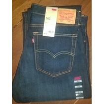 Levi´s 505 Calça Jeans Escuro Lavado Lançamento Levis 501