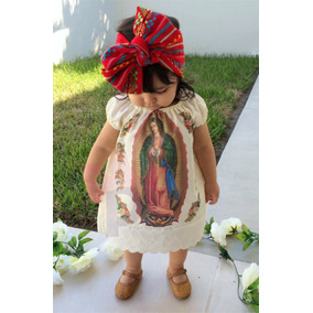 Vestido Virgen De Guadalupe Para Niña