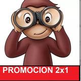 Kit Imprimible Mono Jorge El Curioso Fiesta 2x1