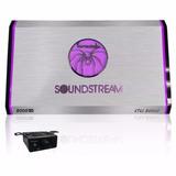Amplificador Soundstream Stl1.3000d Clase D Colores 1 Canal