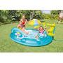 Piscina Niños Inflable Rodadero Juegos Intex Muñecos 57129