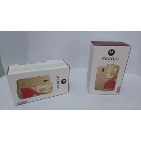 Motorola Moto M 3ram 32gb 4g Lte Liberado Gtia + Vidrio Prot