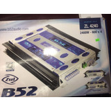 Amplificador Para Auto B-52 Zl-4240 2400 Watts