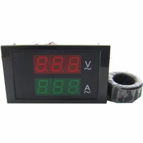Voltimetro Amperimetro Ac 80 - 300v Display Envio