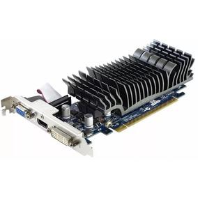 Placa De Vídeo Asus Nvidia Geforce Gt210 1gb 64 Bits Gddr3