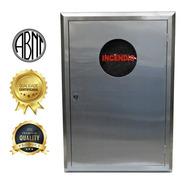Moldura Inox Caixa Hidrante C/ Porta Inox+visor - 900x600mm