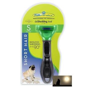 Escova Furminator Para Cães Pequenos De Pelo Curto Original