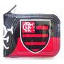 Carteira Flamengo Porta Documentos Cartao Com Ziper