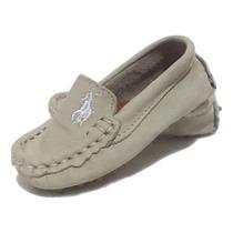 Sapato Mocassim Infantil Polo Ralph L