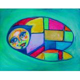 Arte Argentino Cuadros Decoración Hogar Niño