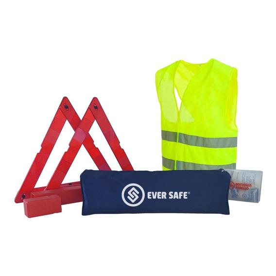 Kit Seguridad Para Auto Complementario Sin Matafuego Basic Apto Vtv