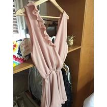 Monoprenda De Vestir Corto Color Rosado Sin Uso Talle 1