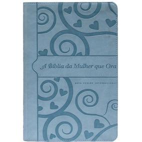 Bíblia De Estudo Da Mulher Que Ora Nvi - Luxo Média + Livro