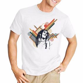 Remera Bob Marley Reggae Rasta Dread Musica Calidad Diseños
