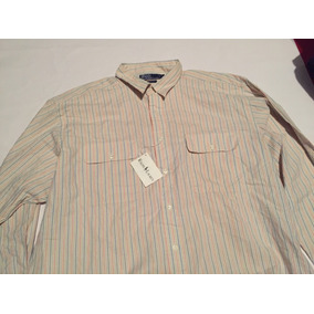 Camisa Polo By Ralph L Talla Extra Grande Casi Blanca