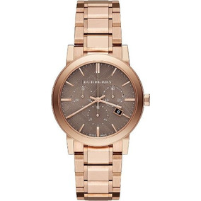 Bu9754 Burberry Reloj City Rose Gold-tone Unisex