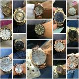 Kit Com 10 Relógios Feminino+caixa Preta+frete Atacado Lote