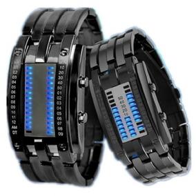 Relógio Inteligente Binário Eletrônico À Prova D´águá