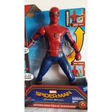 Spiderman Interactivo Con Traje Avanzado 40 Frases Y Sonidos