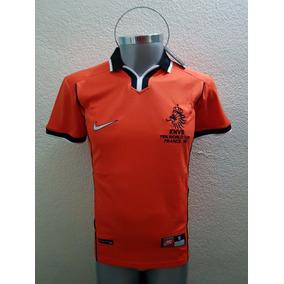 Jersey Playera Holanda Retro Mundial 98 Naranja Mecanica