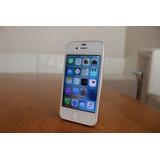 Iphone 4s 16gb Blanco- Libre Fábrica- 30 Días Gar- Igual Nue