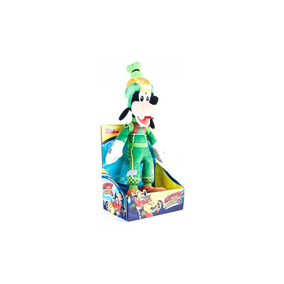 Peluche Goofy 25 Cms En Traje De Carrera Mickey And The Road
