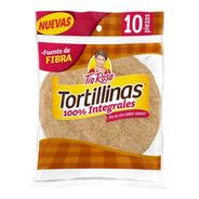 Tortillinas Tía Rosa 100% Integrales 10 Pzas