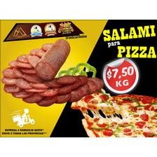 Salami Rebanado Pizza Queso Domicilio Quito - Env Provincias