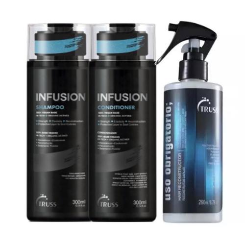 Truss Infusion Shampoo + Condicionador + Uso Obrigatório