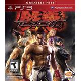 Tekken 6 Ps3 Nuevo Y Sellado Fenix Games Dx