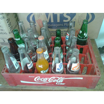 Refrigentes Antigos Na Caixa Da Coca (only Wood)