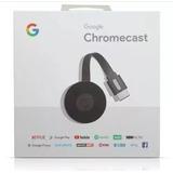 Novo Google 2018 Chromecast 2 *preto* Hdmi 1080p