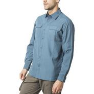 Oferta 30% Off Camisa Hombre Outdoor  Filtro Uv 50/ Solo 3xl