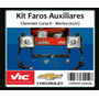 Kit 2 Faros Auxiliares Antiniebla Corsa 2 Meriva Vic