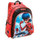 Mochila Costas G Miraculous Lady Bug - Pacific