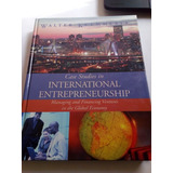 Libro En Inglés International Entrepreneurship Negocios