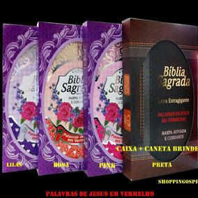 Bíblia Harpa Cristã E Corinho Letra Extra Gigante Cpp