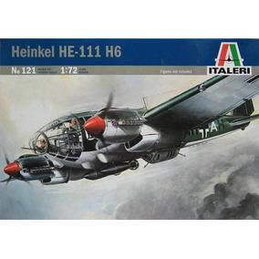 Avião Heinkel He111 H6 Italeri 1/72 Kit Tipo Revell E Tamiya