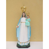 Imagem Nossa Senhora Da Gloria Escultura 80cm + Brinde