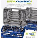 Set De Herramientas Irimo Bocallaves 1/2 Y Combinadas 33 P.