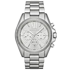 Relógio Michael Kors Luxo Mk5535 Aço Novo Com Caixa Cp347