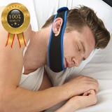 Aparelho Faixa De Cabeca Queixo Anti Ronco Durma Melhor Sono
