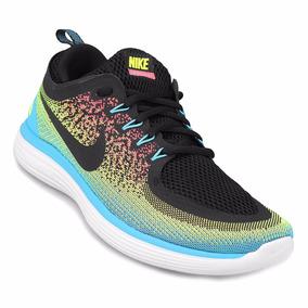 Nike Free RN Distance 2 Running - Zapatillas running Hombre - rojo/azul US 11,5