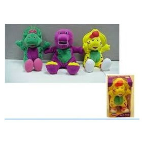 Barney Muñeco Baby Bop Flexible Super Suave Fisher Price
