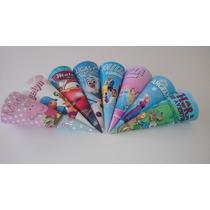 Cones Para Guloseima Personalizada 50 Und Escolha O Seu Tema