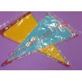 Banderín Plástico Multicolor